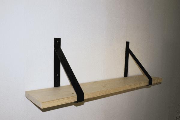 industriele wandplank geschaafd steigerhout